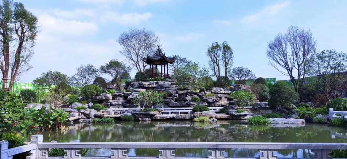 昆明苏式庭院景观设计