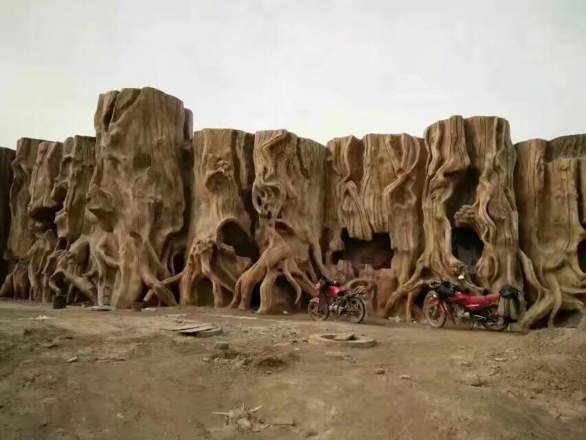 水泥雕塑龙洞